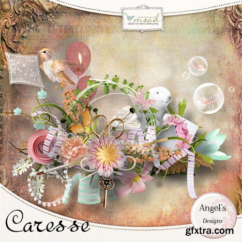 Scrap - Caresse JPG and PNG