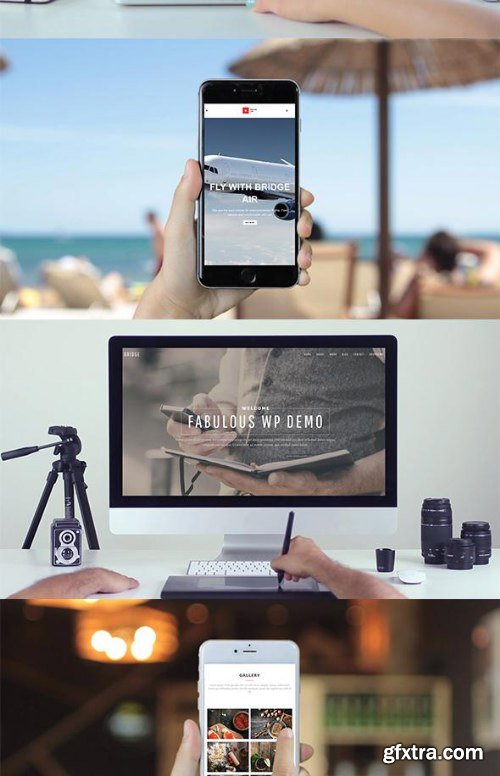 Videohive iMock-Up Real Footage Vol 3 Toolkit 1152864
