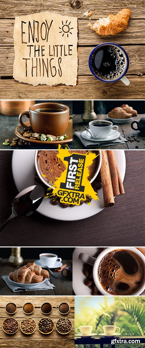Stock Photos fresh breakfast with coffee
