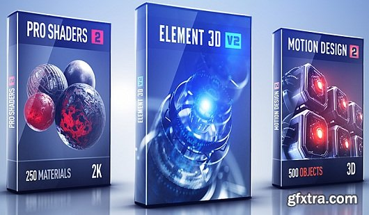 Video Copilot Motion Design 2 + Backlight for Element 3D v2.0.7