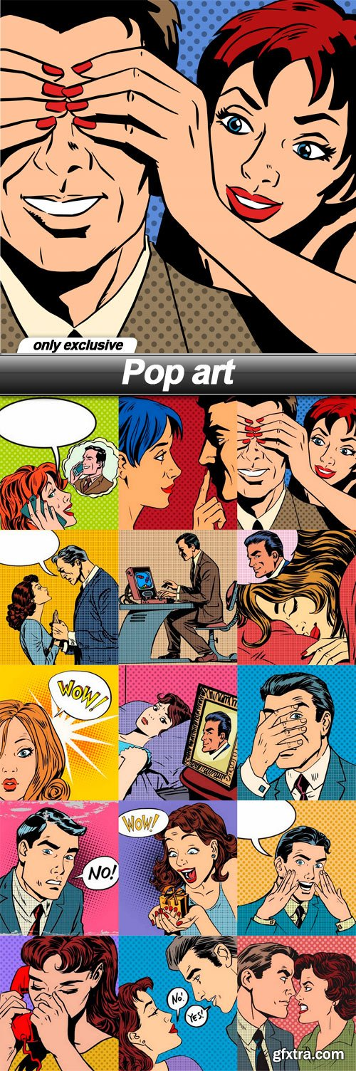 Pop art - 15 EPS