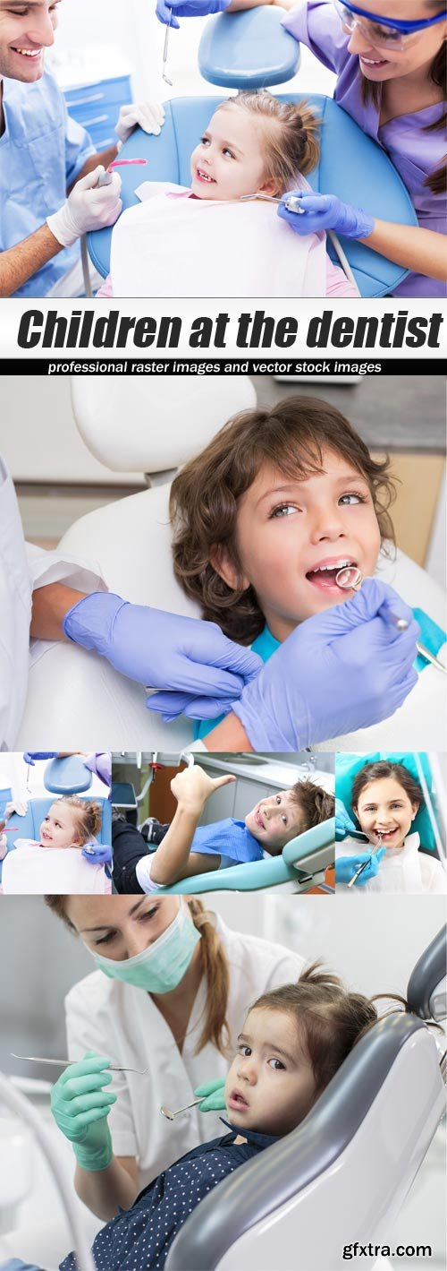 Children at the dentist