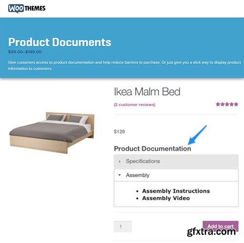 WooThemes - WooCommerce Product Documents v1.3.1