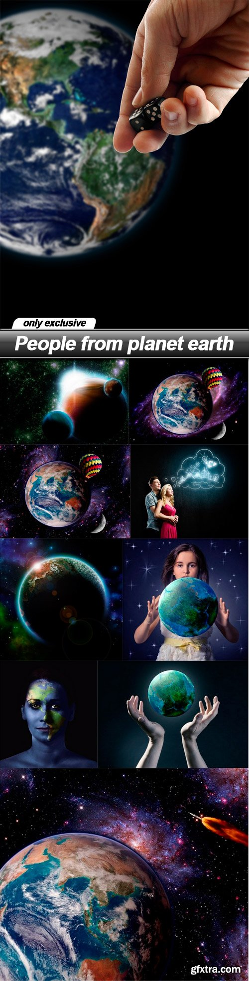 People from planet earth - 10 UHQ JPEG