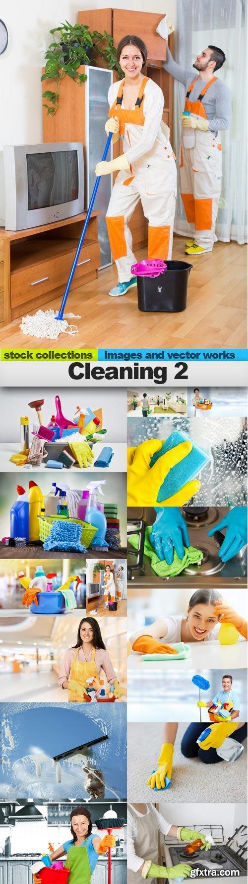 Cleaning 2, 15 x UHQ JPEG