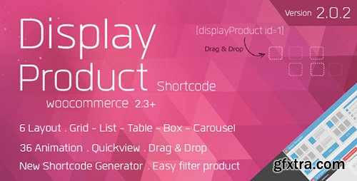 CodeCanyon - Display Product v2.0.0 - Multi-Layout for WooCommerce - 6196331