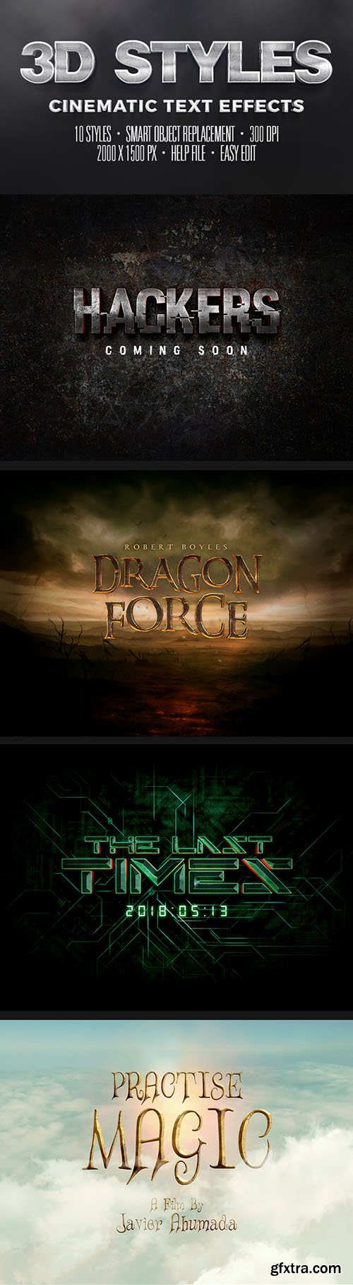 GraphicRiver Cinematic Text Effects Vol.3 11665907