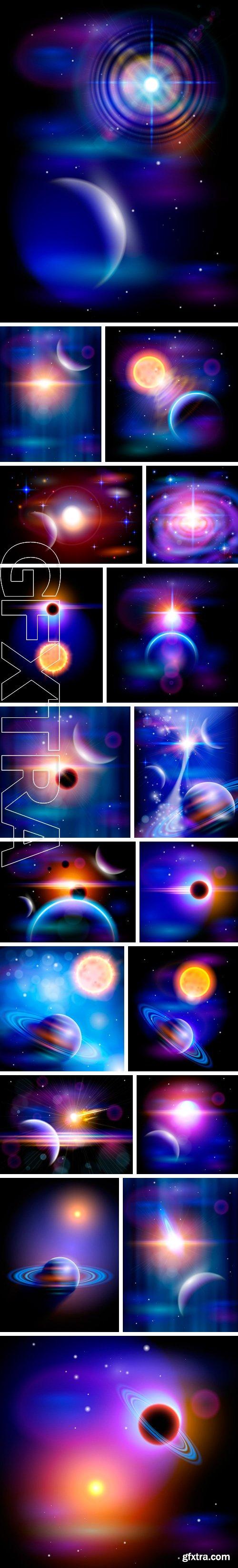Stock Vectors - Magic Space. Vector illustration