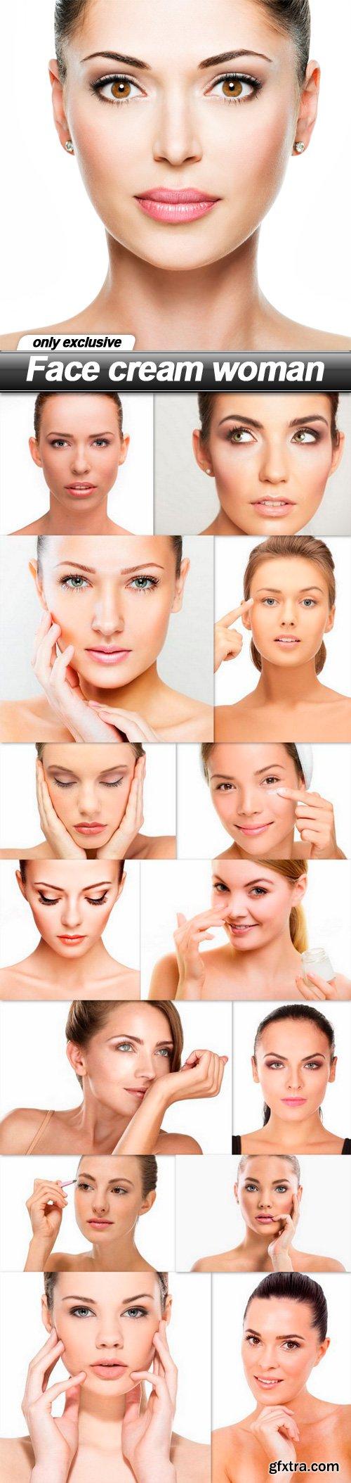 Face cream woman - 15 UHQ JPEG