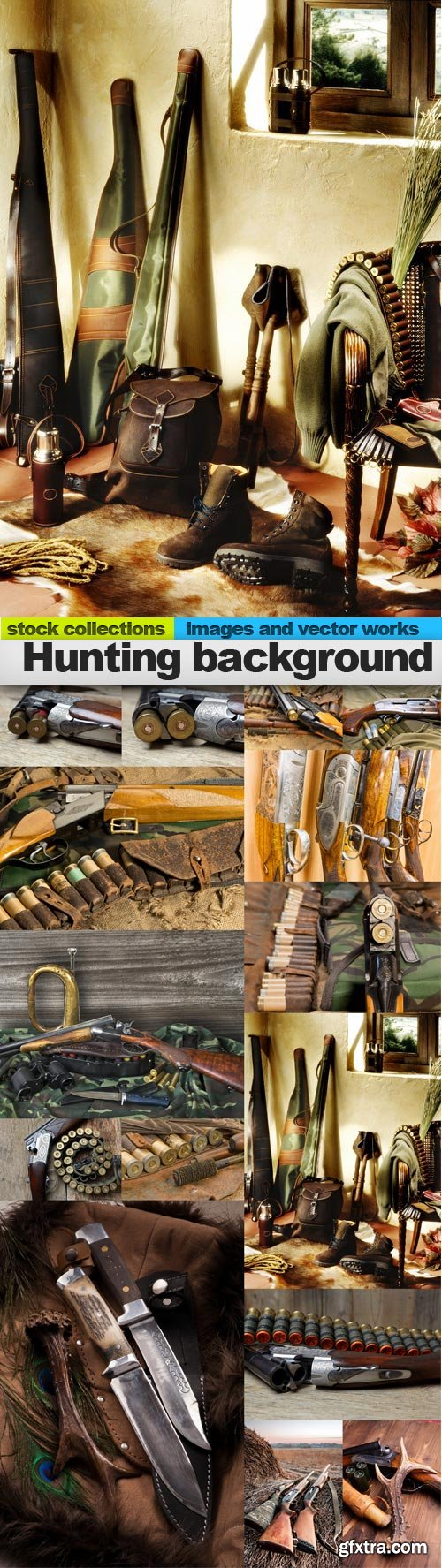Hunting background, 15 x UHQ JPEG