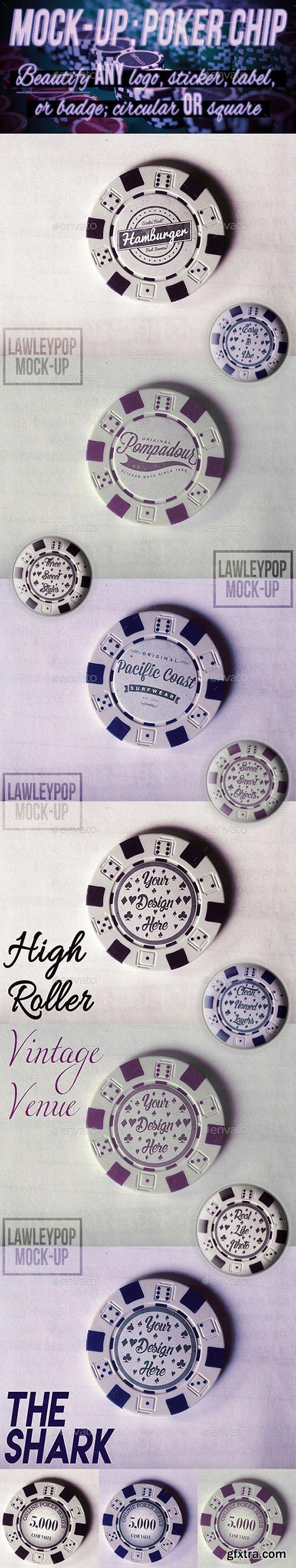 GraphicRiver Poker Chip Mock-Up