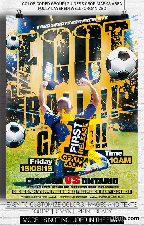 Football Game - Premium Flyer Template