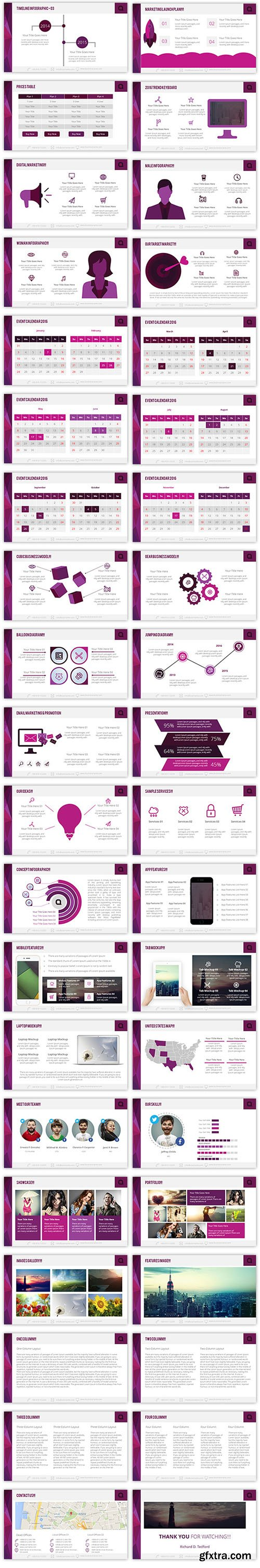 GraphicRiver Colorful - Powerpoint Presentation Template 11678752