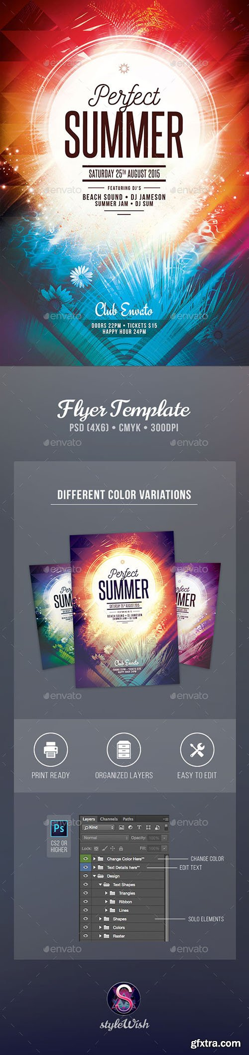 GraphicRiver Perfect Summer Flyer