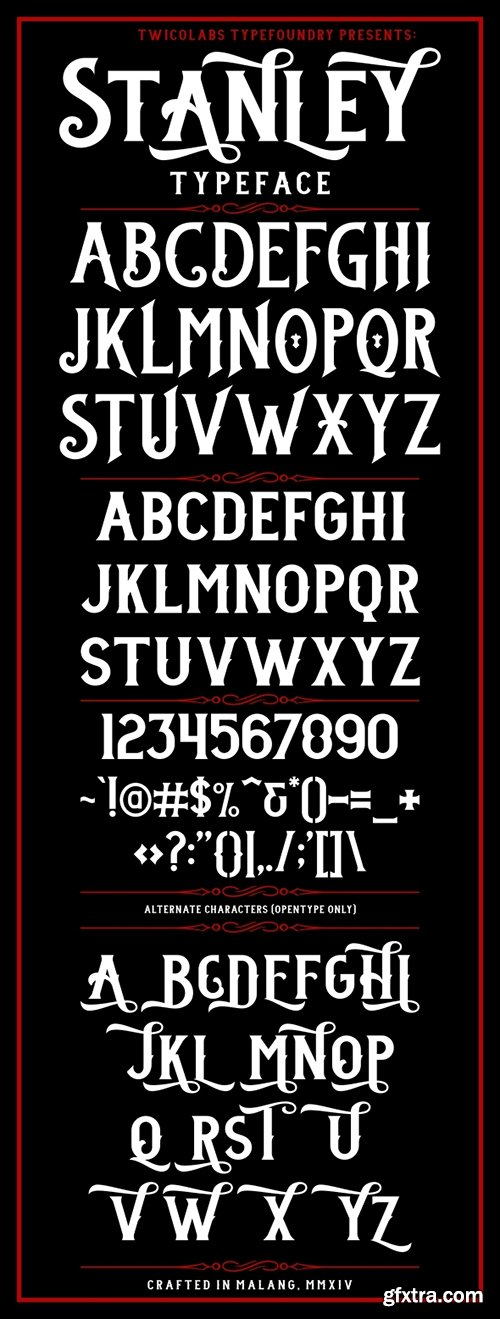 GraphicRiver Stanley Typeface 6914395