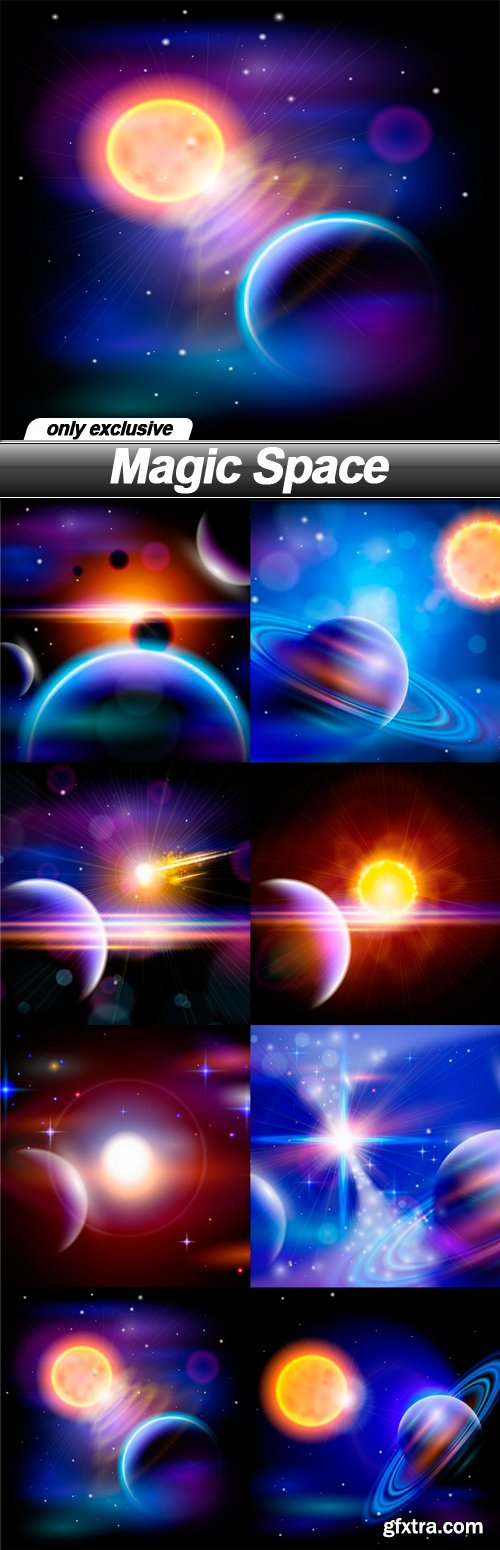 Magic Space - 8 EPS