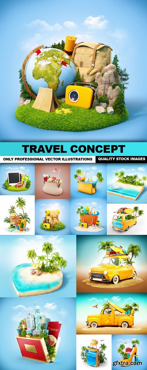 Travel Concept - 15 HQ Images