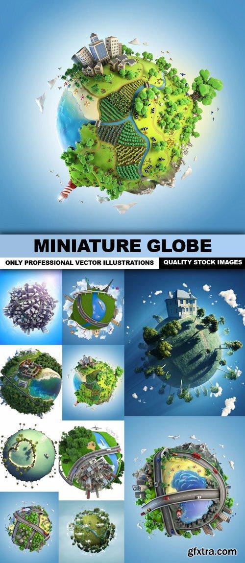 Miniature Globe - 10 HQ Images