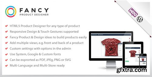 CodeCanyon - Fancy Product Designer v2.1.0 - WooCommerce plugin - 6318393