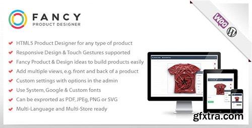 CodeCanyon - Fancy Product Designer v2.1.0 - WooCommerce plugin - 6318393