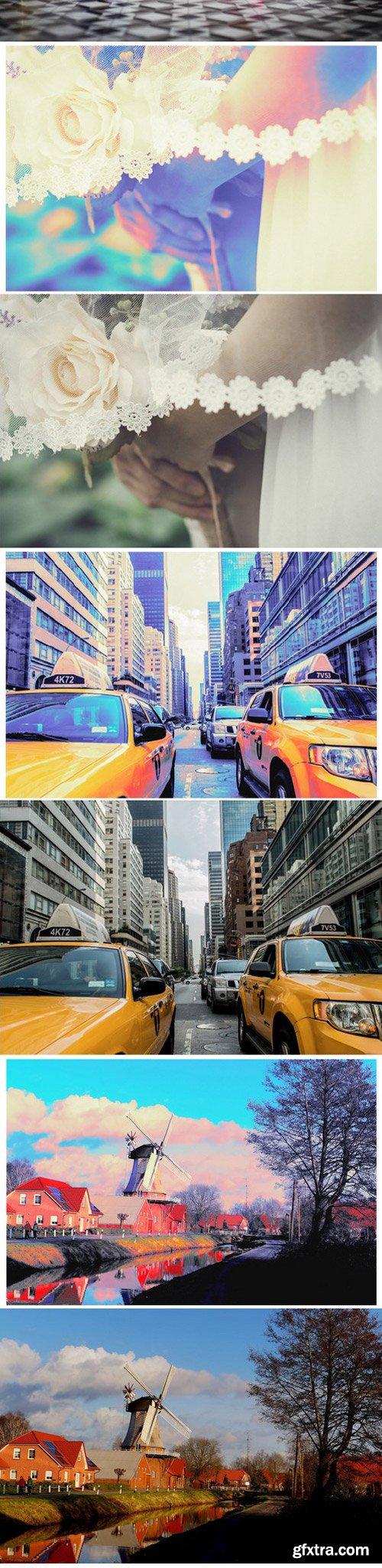 GraphicRiver - 11782325 Neon Photo Effect