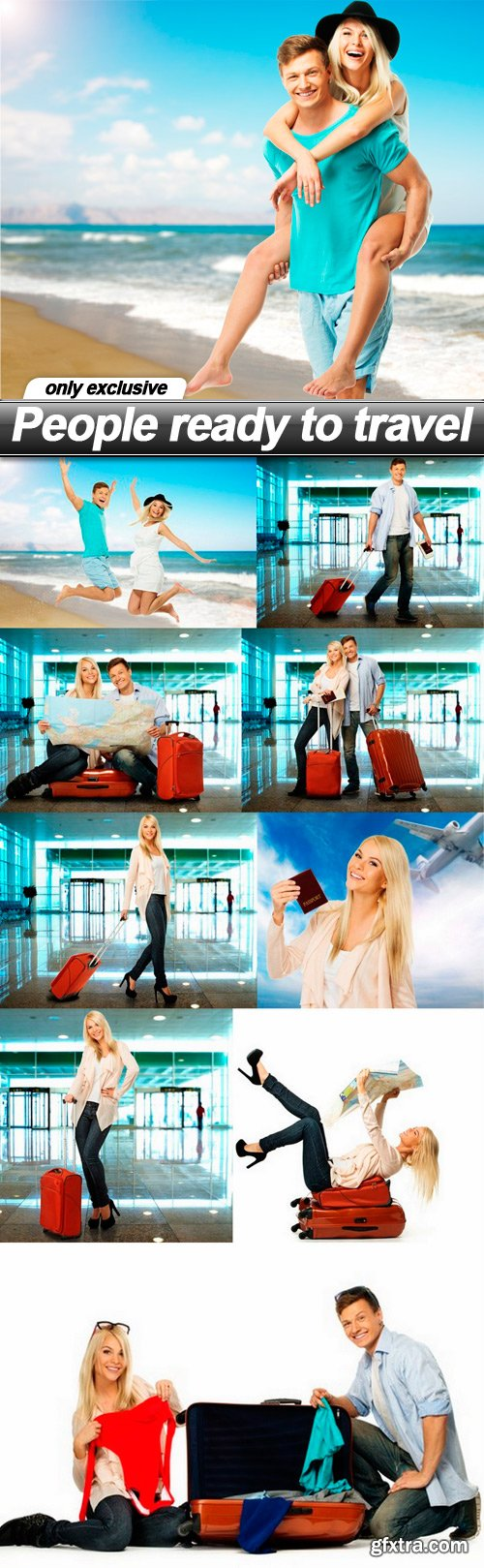 People ready to travel - 10 UHQ JPEG