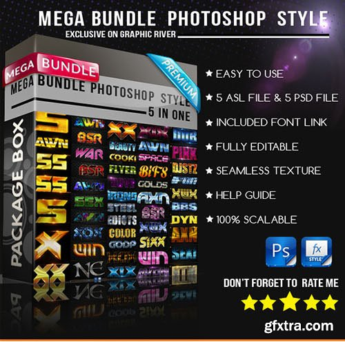 GraphicRiver Mega Bundle Photoshop Style 11765789