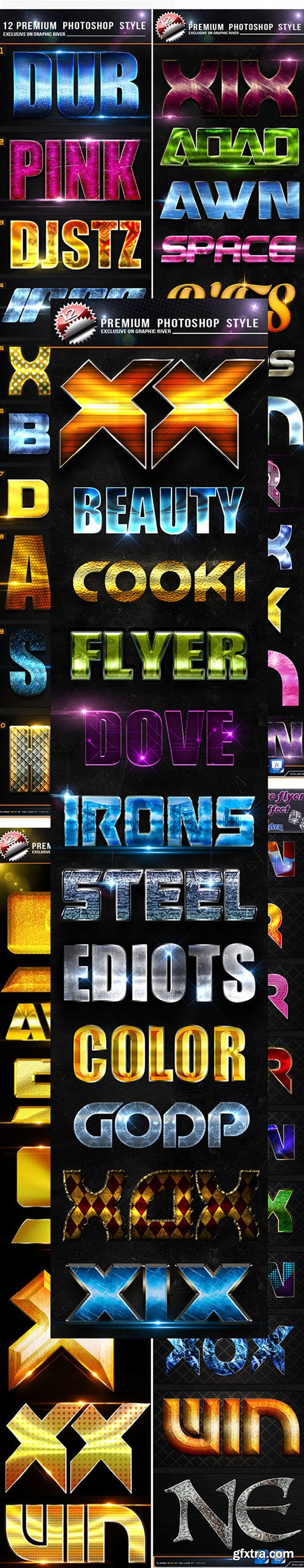 GraphicRiver Mega Bundle Photoshop Style 11765789