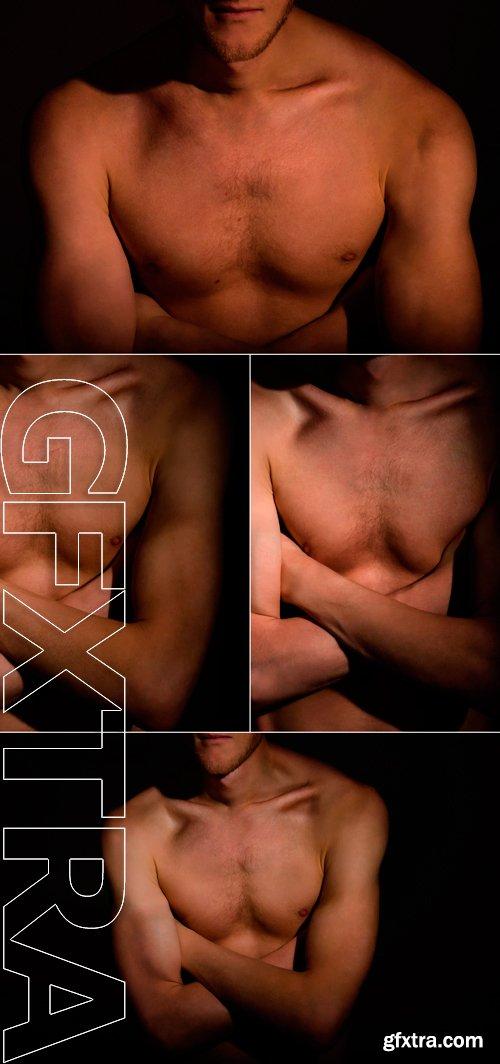 Stock Photos - Athletic man, beautiful body