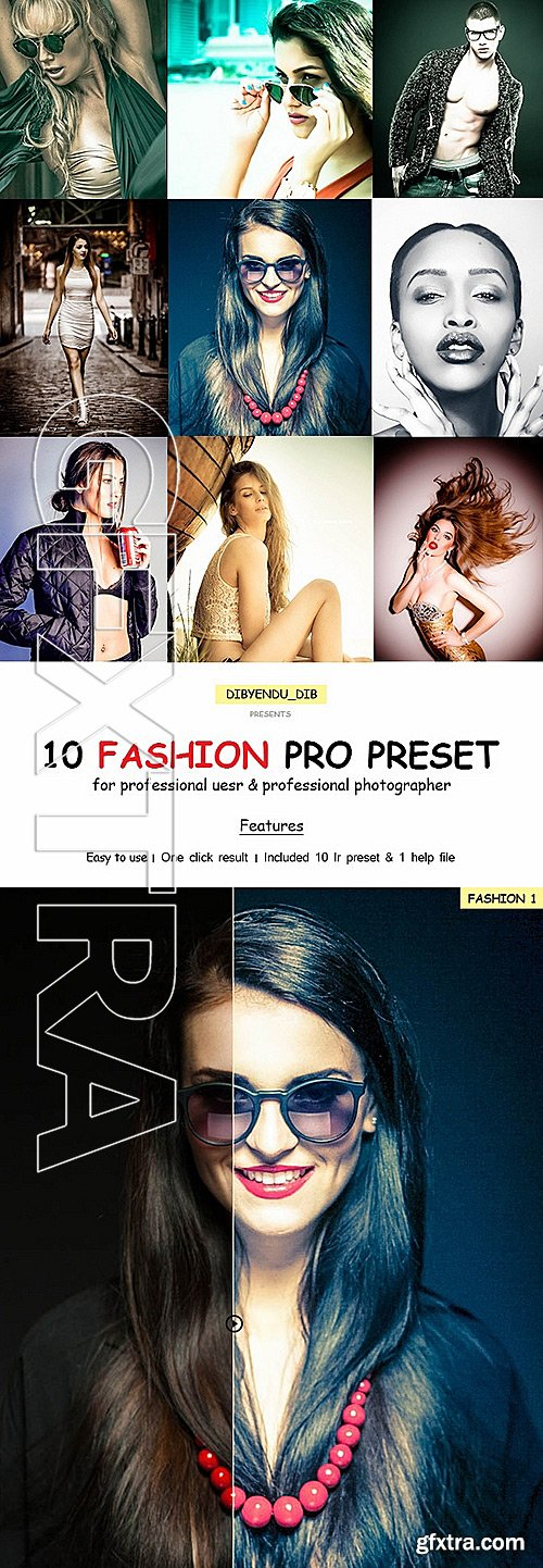 GraphicRiver - 10 Fashion Pro Lightroom Preset 11790075