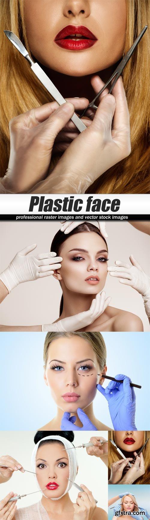 Plastic face