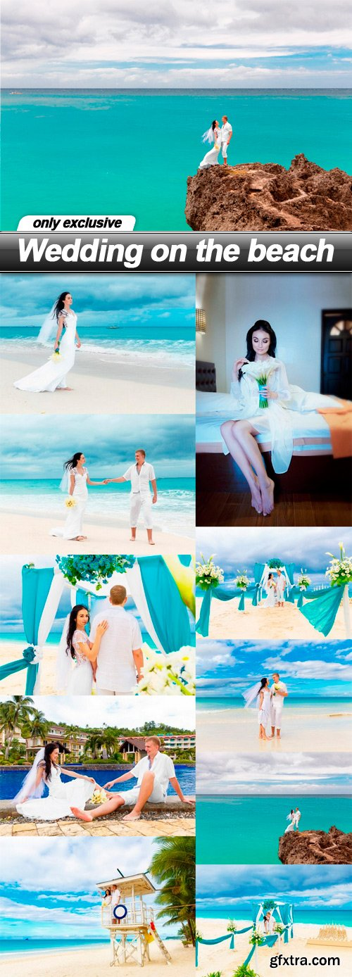 Wedding on the beach - 10 UHQ JPEG