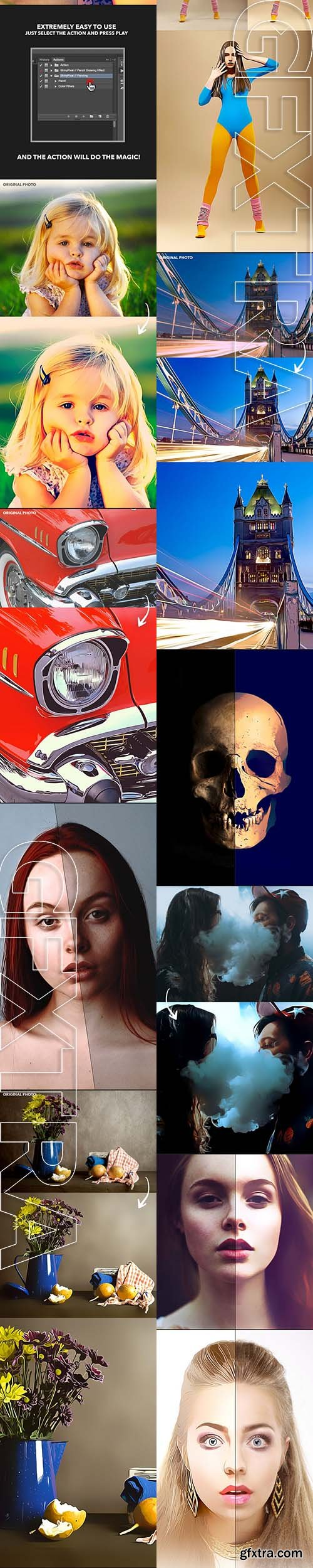 Smart Painting Effect - Photoshop Action - GraphicRiver 11759710
