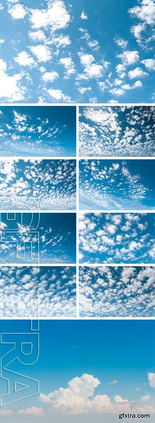 Stock Photos - Summer blue sky background