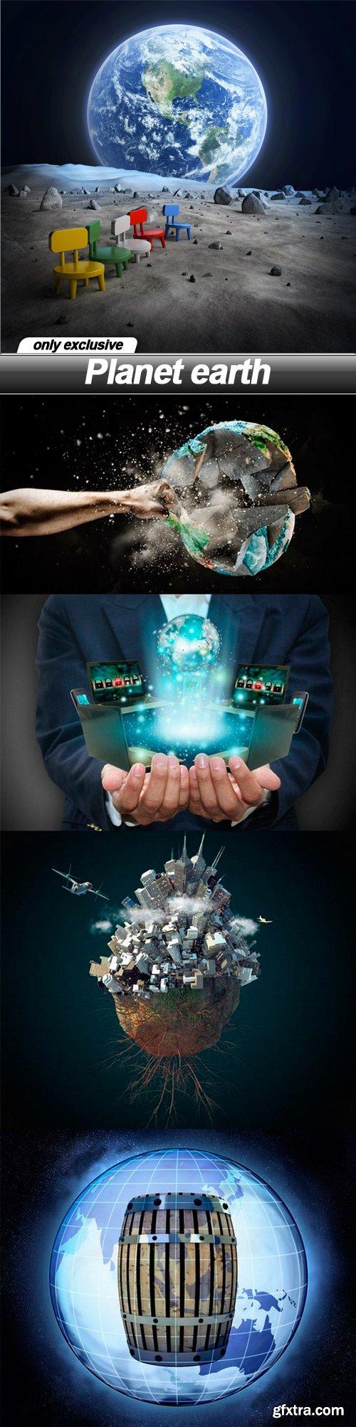 Planet earth - 5 UHQ JPEG