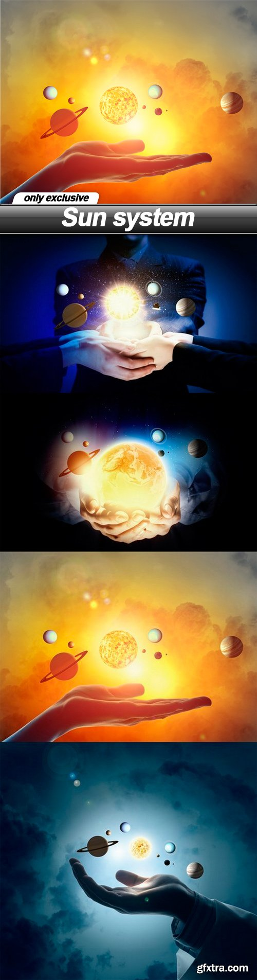 Sun system - 5 UHQ JPEG