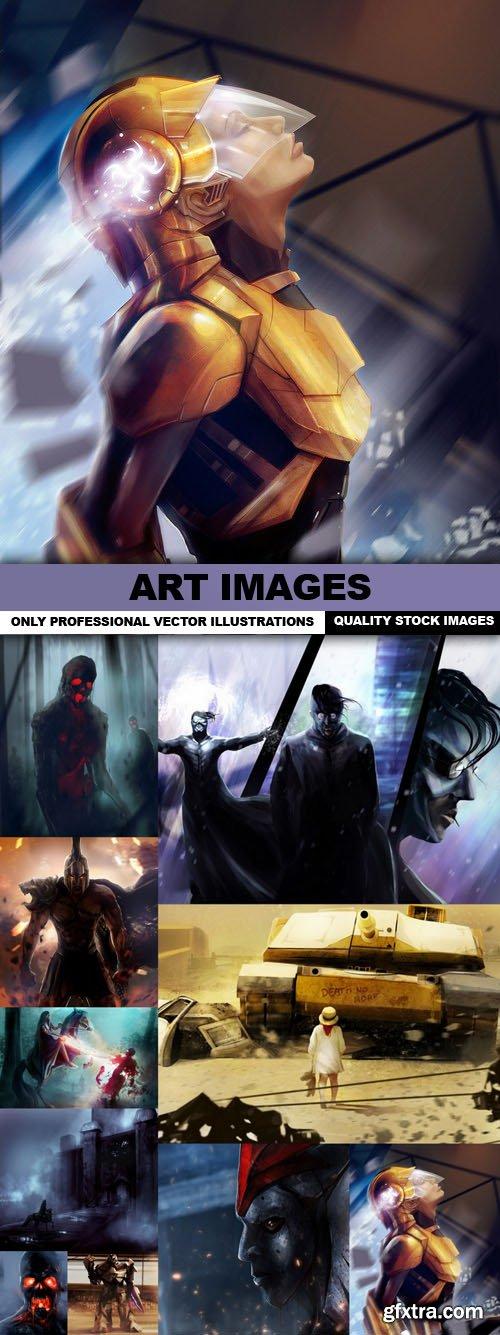ART Images - 10 HQ JPEG