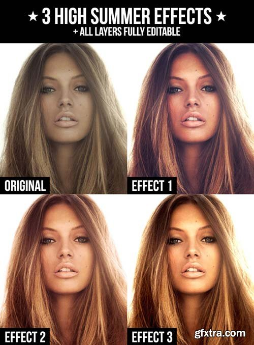 GraphicRiver - 3 High Summer Effects 1950436