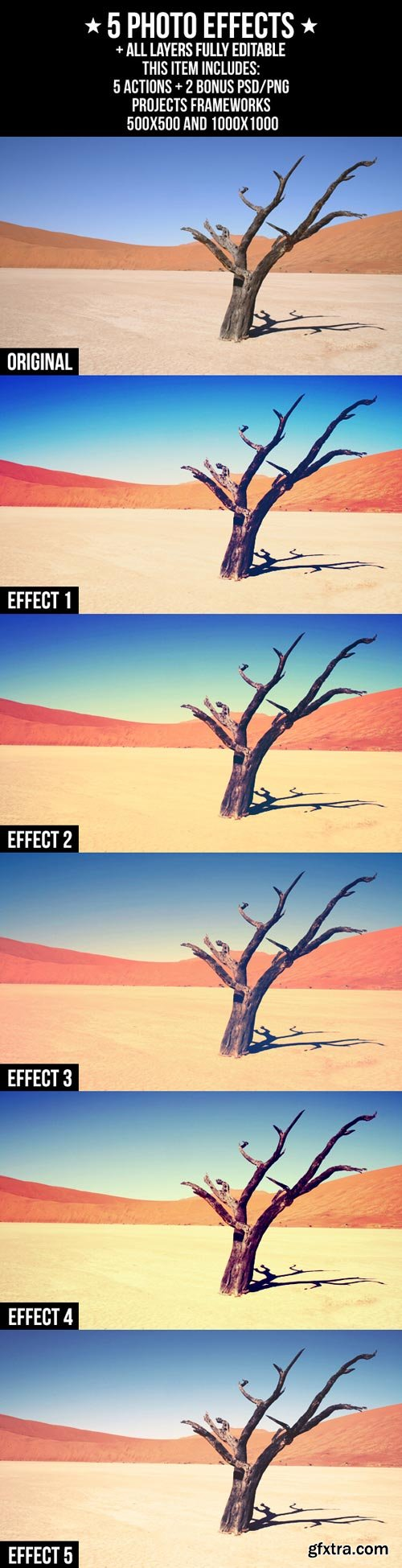 GraphicRiver - 5 Photo Effects 2196161