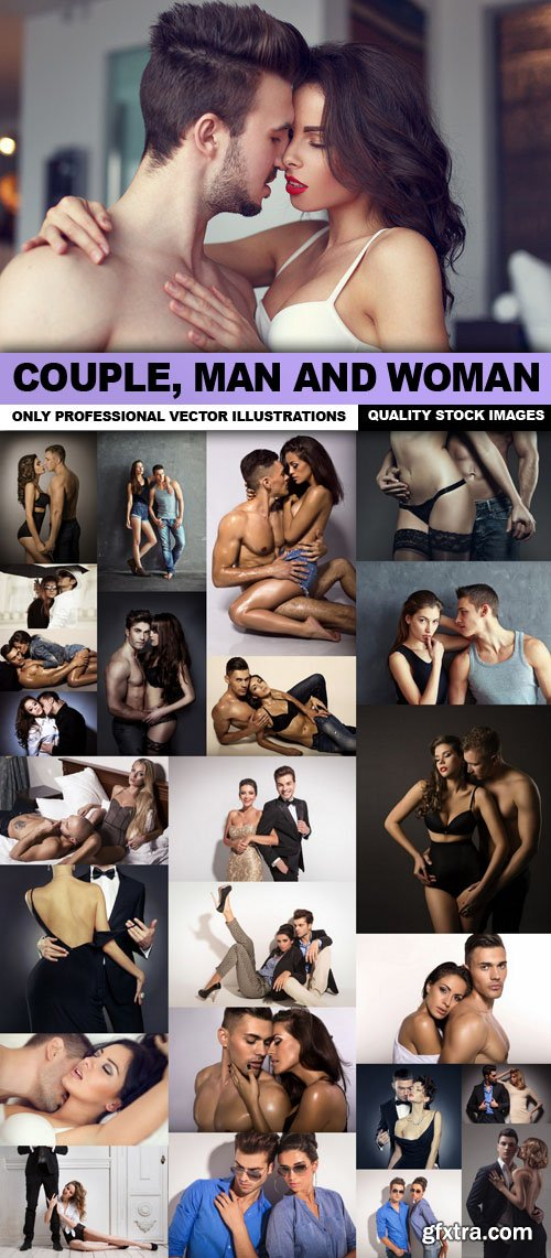 Couple, Man And Woman - 25 HQ Images