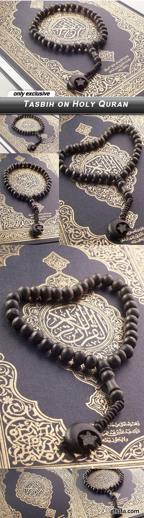 Tasbih on Holy Quran - 6 UHQ JPEG