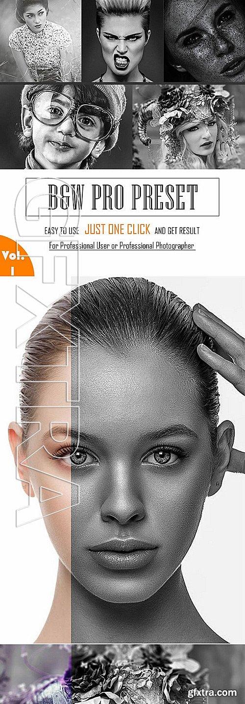 GraphicRiver - B&W Pro Preset 11848643