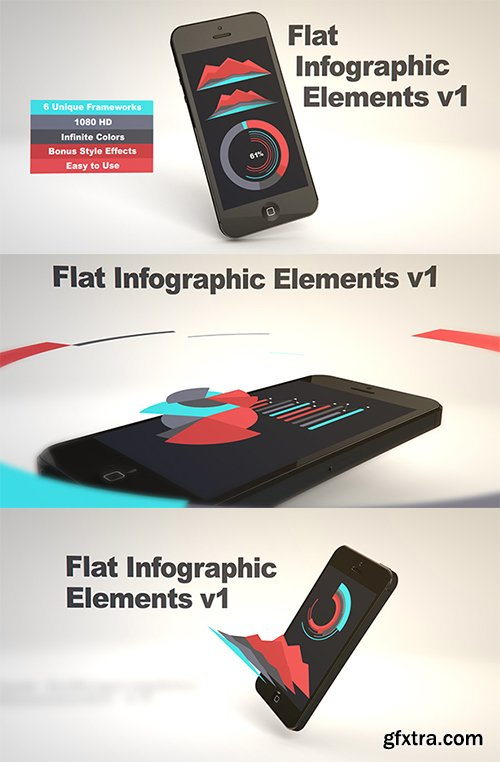 VideohiveFlat Infographic Elements V1 5046616
