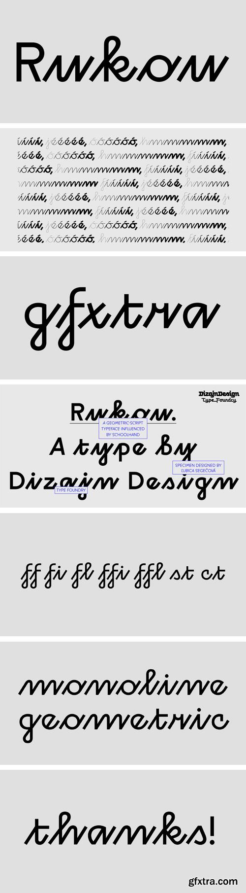 Rukou Font Family