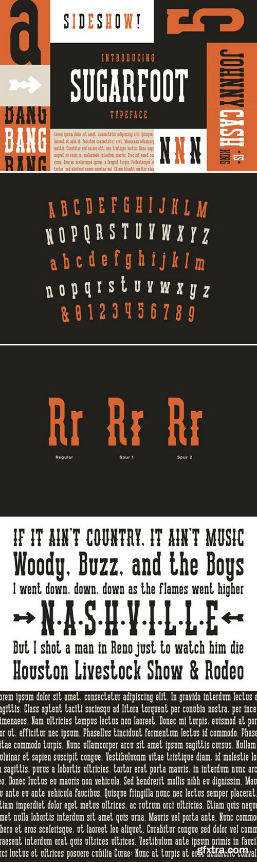 CM - Scarlet - Display Typeface 302520