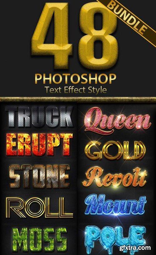 GraphicRiver 48 Photoshop Style Bundle Part 1 11896636