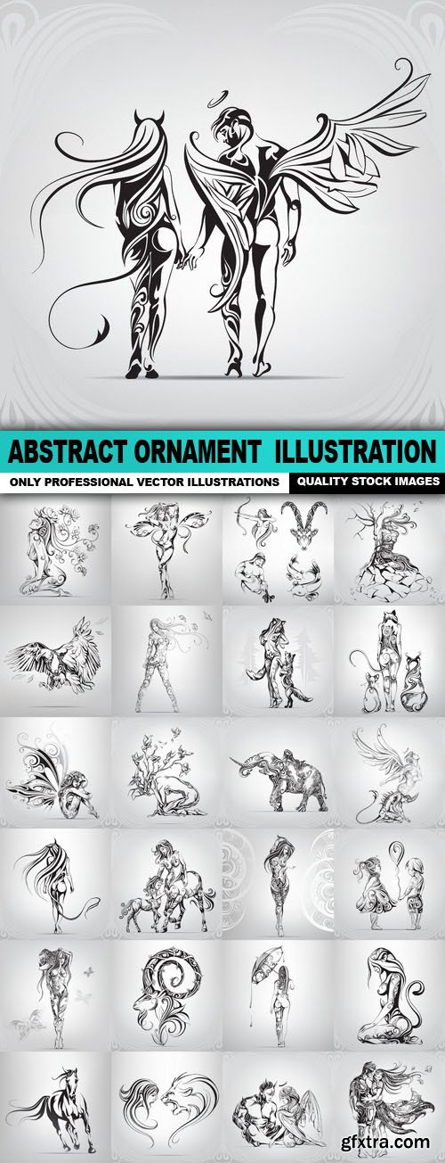 Abstract Ornament Illustration - 25 Vector