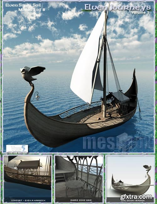 Elven Small Sail Sea Craft