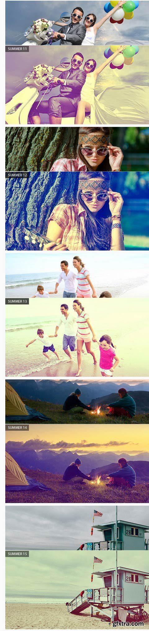GraphicRiver - Summer Photoshop Action 11838603
