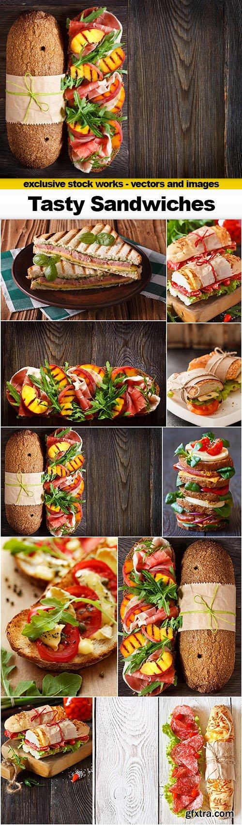 Tasty Sandwiches - 10x UHQ JPEG